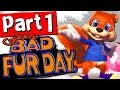 Conker's Bad Fur Day Walkthrough Part 1 Lets Playthrough 1080p [HD] RARE REPLAY XBOX ONE