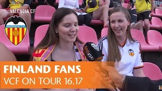 VALENCIA CF: THE POWER OF FINLAND FANS