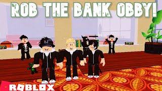 Robbing the bank in roblox! [Roblox rob the bank obby]