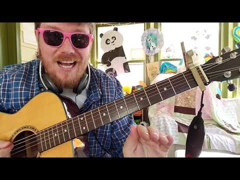 Joyner Lucas * Chris Brown - Just Let Go // easy guitar tutorial beginner lesson thumbnail