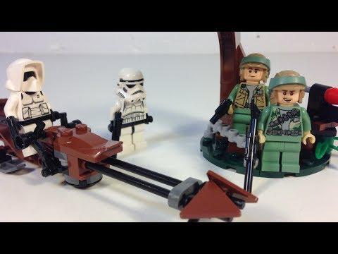 Lego Star Wars 9489 Endor Rebel Trooper And Imperial Trooper Battle Pack