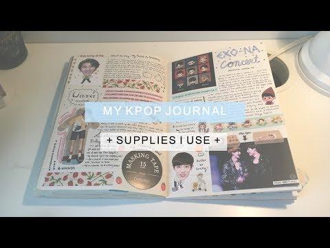 🌼 My Kpop Journal+Supplies I Use+ 🌼