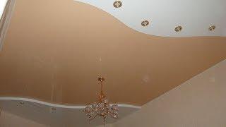 Цветные матовые натяжные потолки, компания «Строй Сервис»