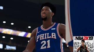 NBA 2K19 Online Gameplay (Los Angeles Lakers vs Philadelphia 76ers)