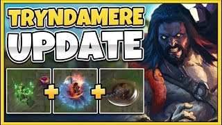 Gambar cover THE FULL TRYNDAMERE UPDATE IS FINALLY HERE! NEW SPELL VFX TRYND! - League of Legends