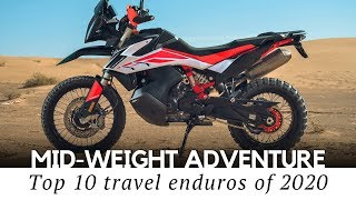 Top 10 Middle-Weight Adventure Motorcycles (500-800cc Touring Lineup)
