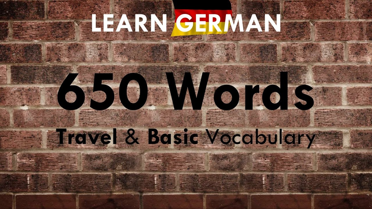 Learn Basic German Phrases in Under 2 Minutes - YouTube