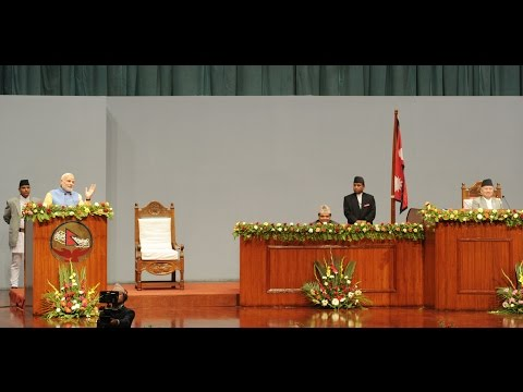 PM Narendra Modi's speech at Nepal constituent assembly