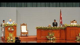 PM Narendra Modi's speech at Nepal constituent assembly