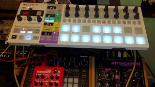 problem using beatstep pro to control meeblip triode