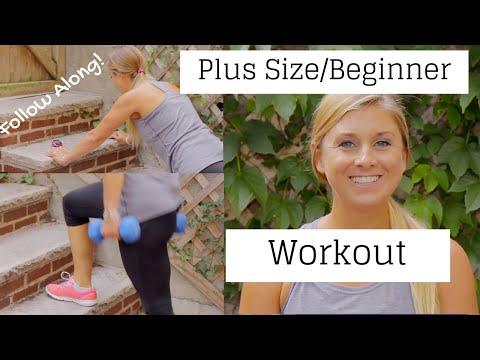 Plus Size/Beginner Workout - Follow Along Workout for Beginners