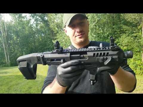 CAA Micro Roni carbine with stabilizing brace