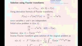 Mod-08 Lec-36 Parabolic and Elliptic Equations, Membrane Equation
