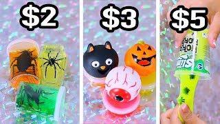 $2 vs $3 vs $5 Michaels Slime - Bugs , Spiders, Roaches Slime ??