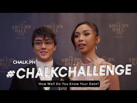 #ChalkxABSCBNBall: How Well Do You Know Your Date