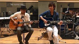 春畑&角野による新曲「My sunny day」のコーラスレクチャームービーが...