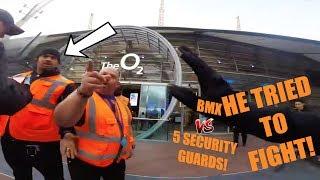 SECURITY GUARDS VS BMX **FOOTAGE**