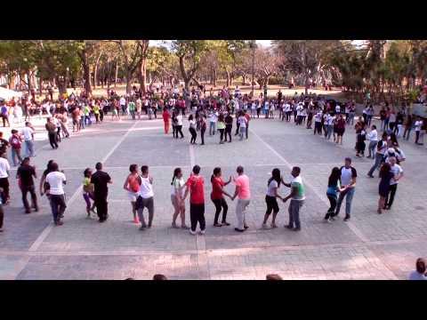 1er Rueda de Casino FlashMob Internacional en Caracas, Venezuela 2015