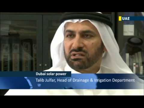 UAE Plans Solar City: Dubai authorities promoting use of solar-powered renewable energy