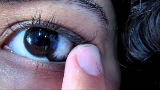 Circle Lens: Soft Diamond Circle Black ~ SpecialLens.com ~ Korean Lens