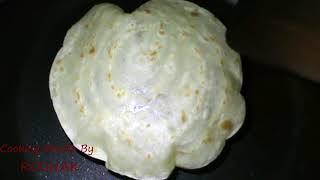 2 মিনিটে রুটি বেলার ঝামেলা ছাড়াই রুটি তৈরি করুন  ATTA RUTI    Video
