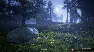 Урок Unreal Engine 4 - LAM (Landscape Auto Material)