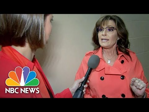 Sarah Palin Not A Victim Of Workplace Harassment: People Know 'I'm Probably Packing' | NBC News