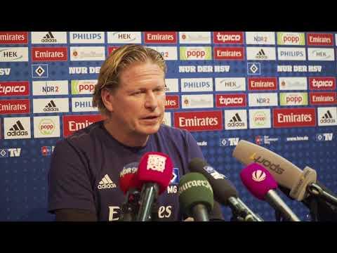 HSV-Trainer Gisdol nach Dortmund und vor Leverkusen