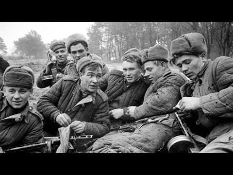 Быт и отдых солдат Вермахта и солдат РККА