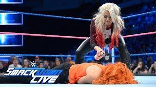 Alexa Bliss fügt der Rückkehr von Becky Lynch Farbe hinzu: SmackDown LIVE, 25. Oktober 2016