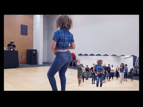 Kizomba Ginga workshop by Sarah Amaro Kizombalove – Lady Styling