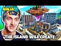 Ninja Say Cube Island Will CREATE Something (Cube Event) | Fortnite Daily Funny Moments Ep.230