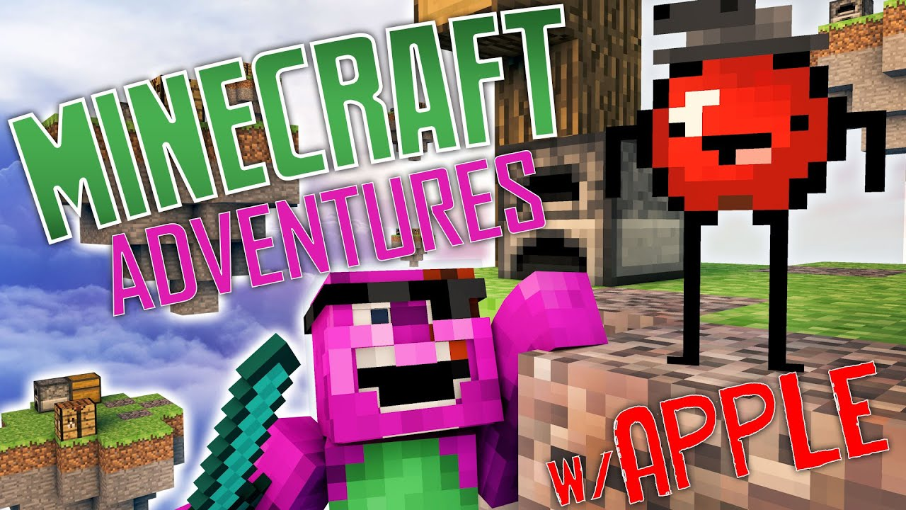 Minecraft Adventures W Apple Apple Is Crazy Minecraft Skywars
