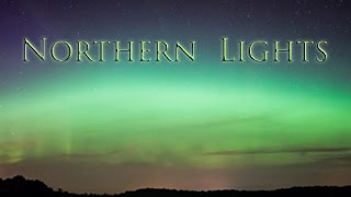 Aurora Borealis Time lapse: Ambient Music; Relaxing Music; New Age Music; Music for Relaxation  🌅524