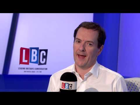 George Osborne Live On LBC: 15th March 2018