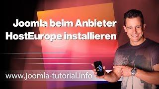 Joomla unter HostEurope installieren