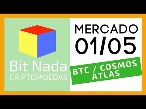Mercado de Cripto! 01/05 BTC: ACABOU A QUEDA? / Cosmos / Atlas: muito barulho?