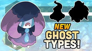 Pokemon Reimagined As Ghost Types