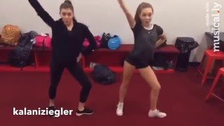 Maddie Ziegler and Kalani Hilliker Little Einstein Dance