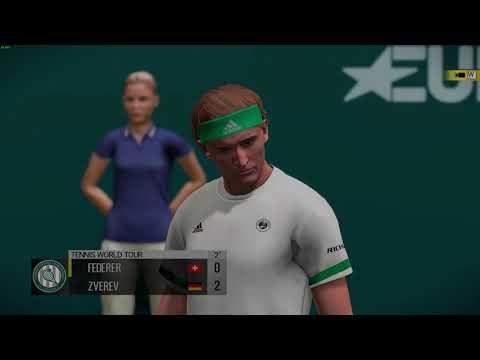 Tennis World Tour – Alexander Zverev vs. Roger Federer