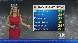 FROSTY MORNING:  Plunging temperatures send chill through Bay Area