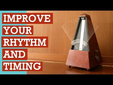 Improve Your Musical Rhythm w/ Metronome Exercises (no instrument needed)