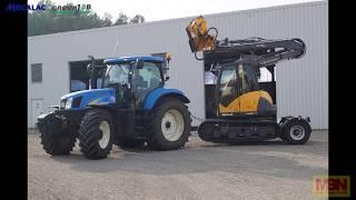 Demotag im Spreewald | Pick Up 2 Go  | Mecalac | GreenJob | MBN Baumaschinen TV | Excavator
