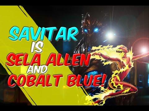 Savitar = Sela Allen + Cobalt Blue?! THEORY! The Flash! Season 3 - Lets Talk!