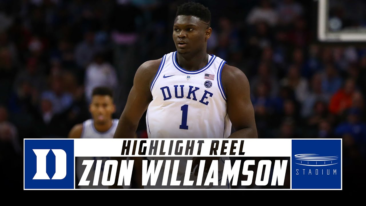 Download Zion Williamson Duke Basketball Highlights - 2018-19 Season | Stadium