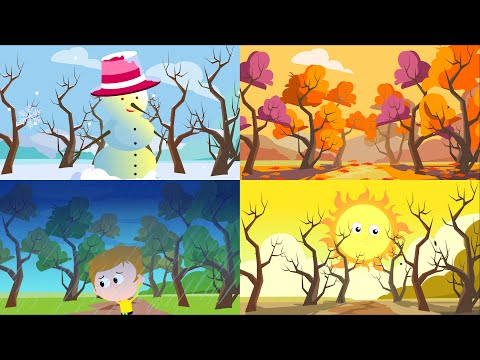 Seasons Song  The Four Seasons Song For Children