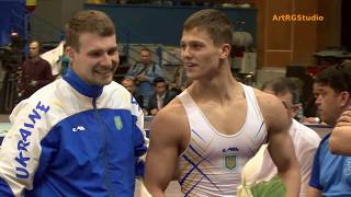 видео: VASYLENKO Maksym (Василенко Максим) (UKR) FX 2017 Stella Zakharova Cup - Men's Finals