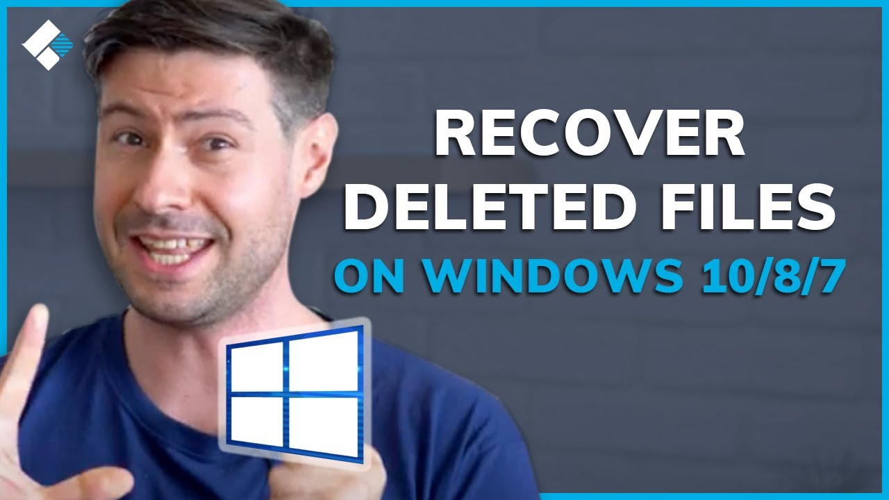 How to Recover Deleted Files on Windows 10/8/7 Easily? - YouTube