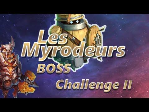 [Castle Clash] BOSS CHALLENGE II En Live - Les_Myrodeurs