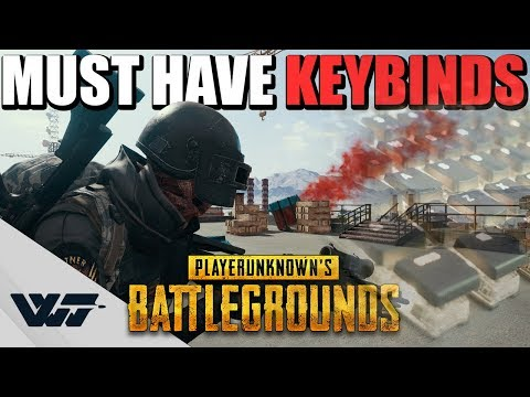 GUIDE: The MUST HAVE KEYBINDINGS For PUBG